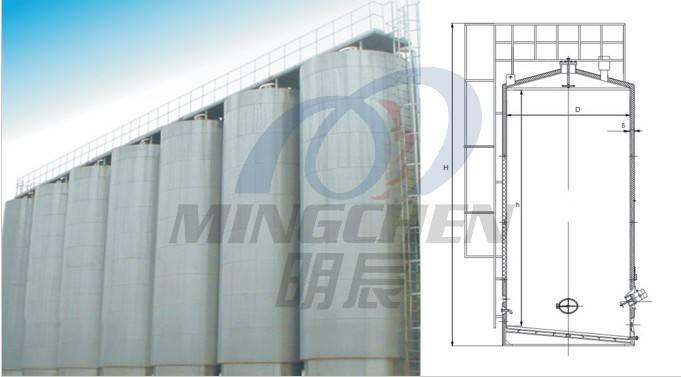 Larger Outdoor Storage Tank
