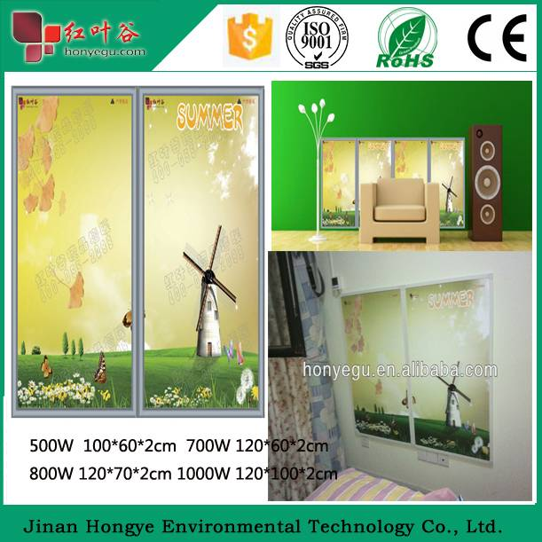 2015 Hot Sale Electric Room Heater Infrared Heating Panel