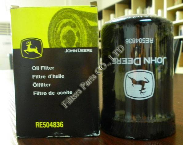 RE504836 john deere oil filter