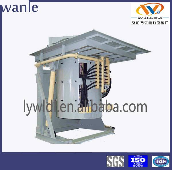 1.5 ton Copper Scrap Electric Melting Furnace