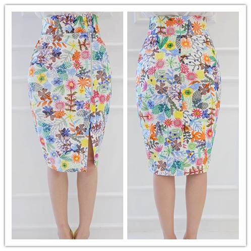 New wholesale floral skirts, pencil sexy skirts