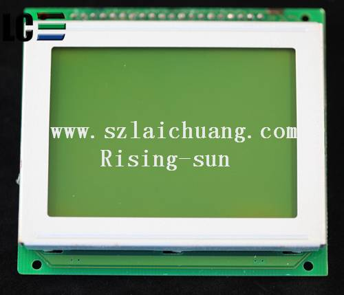 AG12864CYIQY-A STN LCD MOUDLE 128*64 RISING-SUN