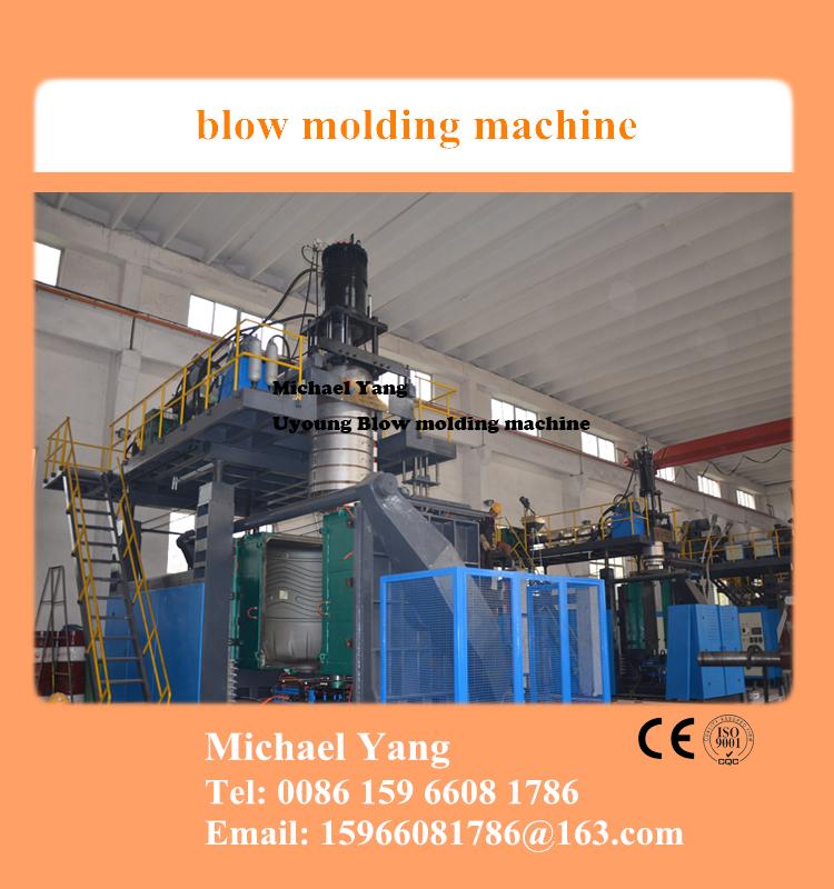 3 layer 2000l blow molding machine