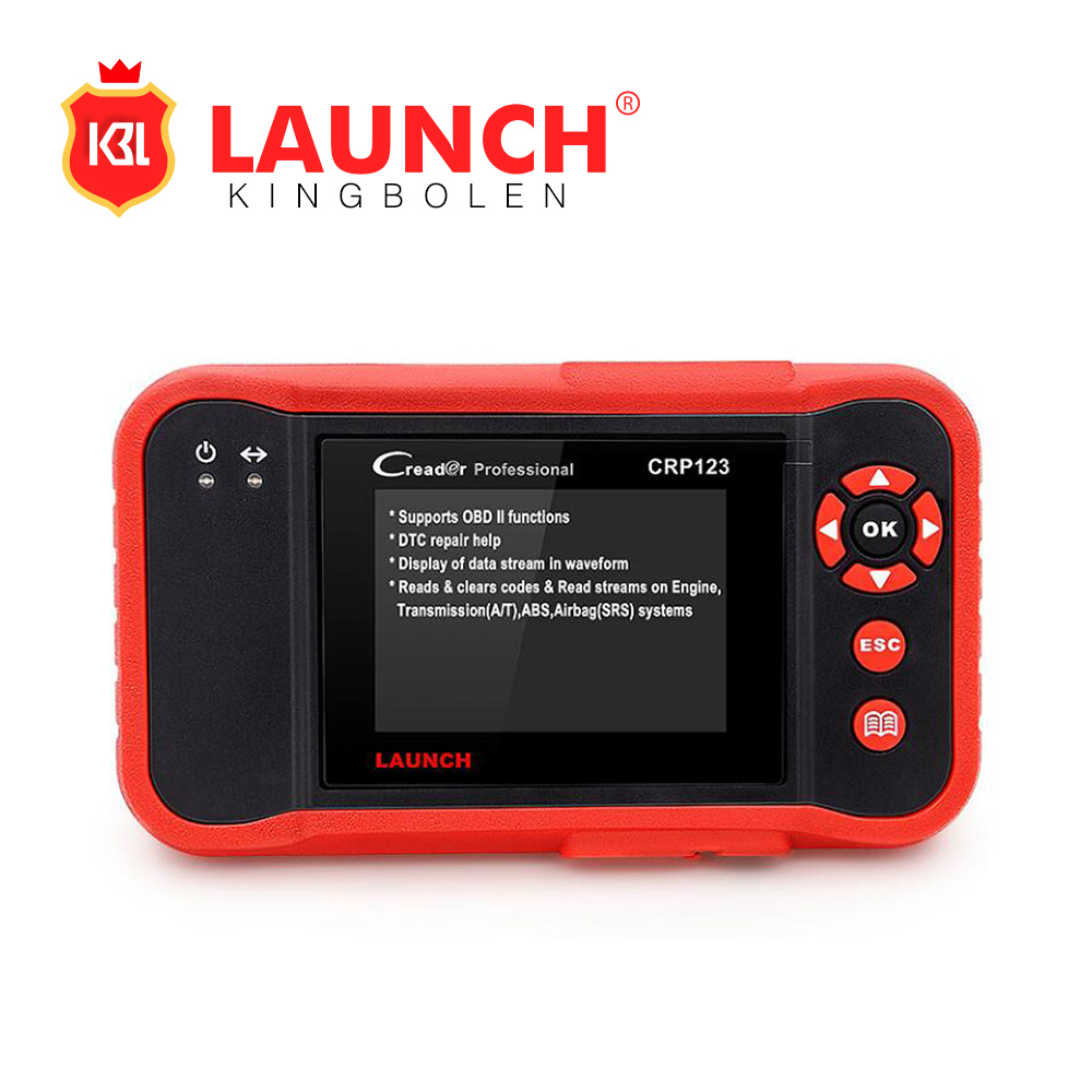 Launch CRP123 Update Online LAUNCH X431 Creader CRP 123 ABS, SRS, Transmission and Engine Code Scann