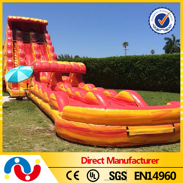 commercial giant inflatable water slide for sale , adult sized inflatable slide