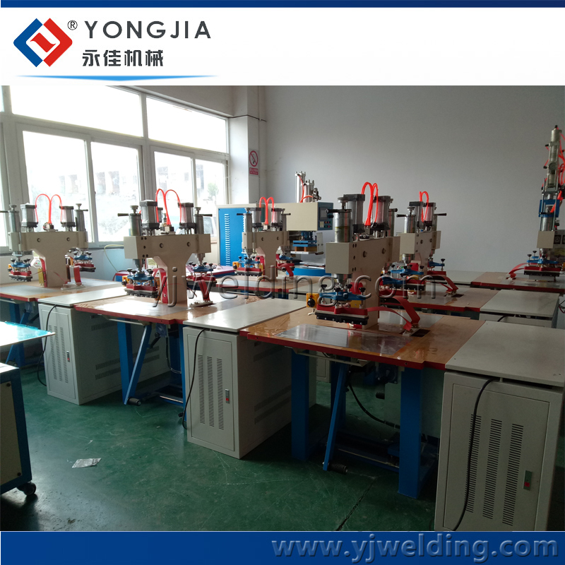 PVC Garment Zipper Bag Making Machine High Frequency Plastic Welding Machine