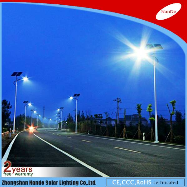 2016 Nande solar street LED light with CCC certificate