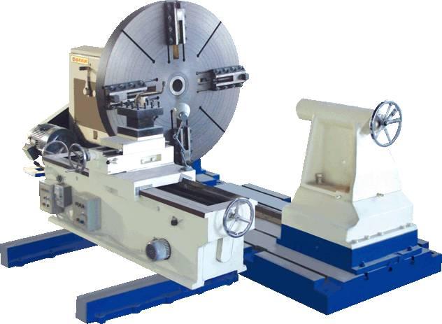 Heavy Duty Turning Flange Lathe Machine 2400mm / Floor Lathe