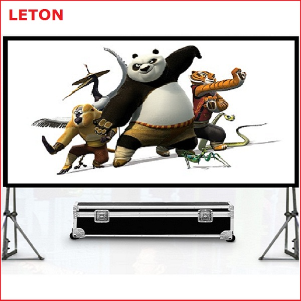 hot selling Fast fold portable projector screen