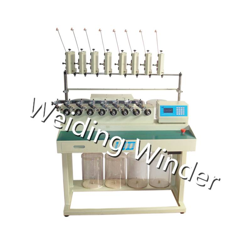 4x4 coil shift winding improve speed coil winding machine