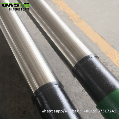 Stainless Steel Johnson type Screen/Pipe Based Wire Wrapped Screen Factory