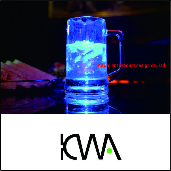 Smart Luminous Glass Cup & Logo customization