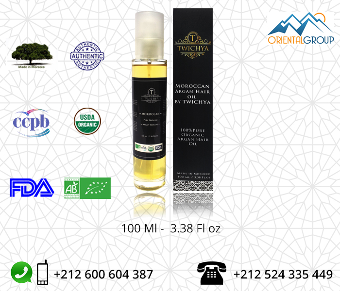 Organic Argan Oil Private Label