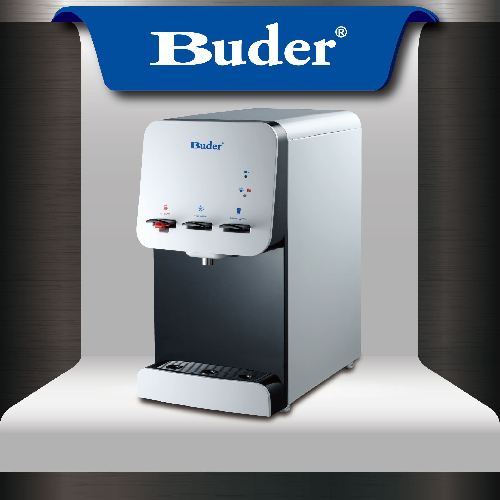 [ Taiwan Buder ] 2017 New design couter-top water dispenser