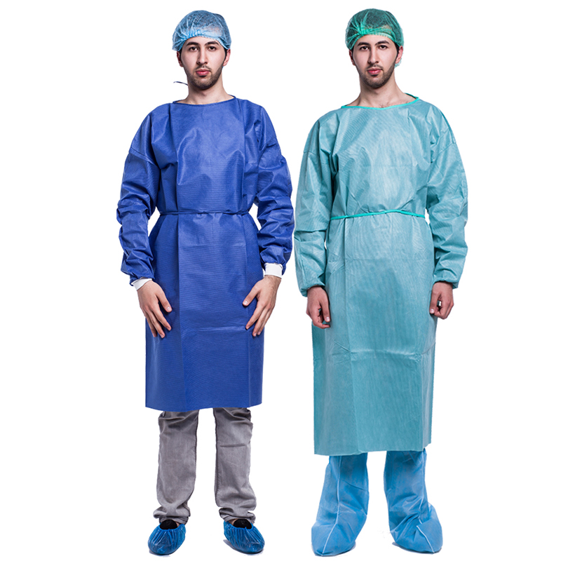 Disposable surgical gown/ disposable coverall for hospital use