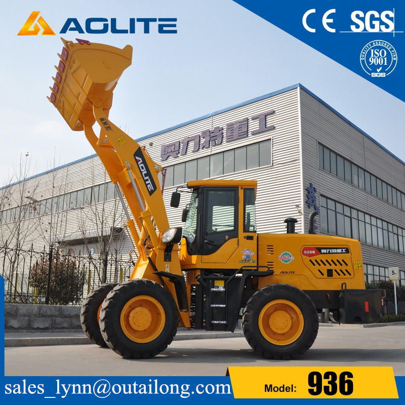 Road Construction Machinery Low Price Small Loader with Joystick