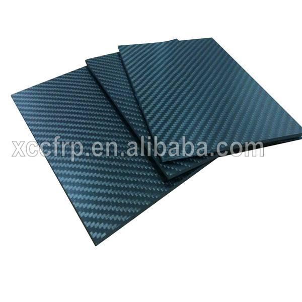 100% carbon fiber Toray 3K twill matte carbon fiber panel, custom cnc carbon fiber