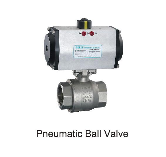 pnewmatic ball valve of mixing plant