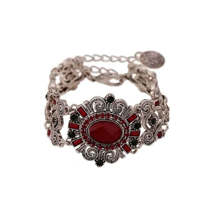 Vintage Gemstone Bracelet Bangel For Women