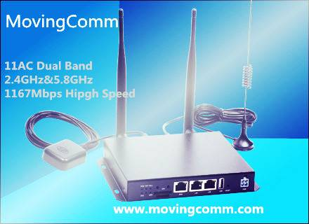 1167Mbps Dual Band Wireless Vehicle Router with 3G/Car WiFi router