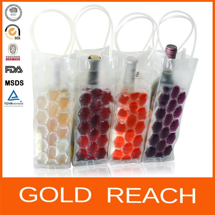 Colorful PVC Wine Chiller Bag
