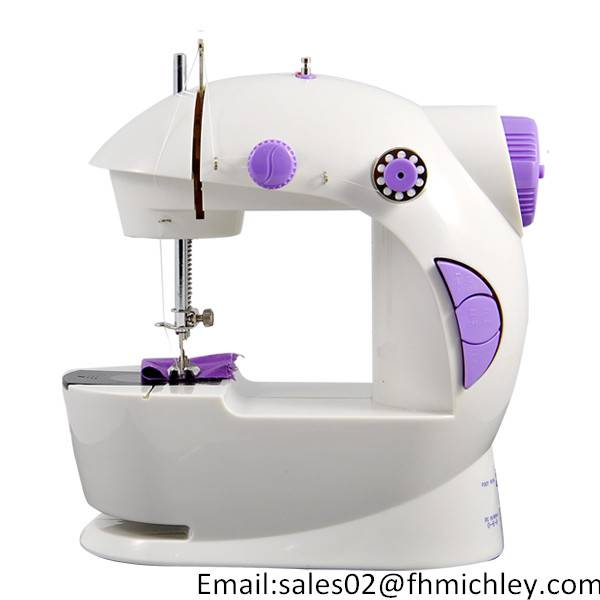 CE ROHS BS approval mini sewing machine FHSM-201 as seen on TV