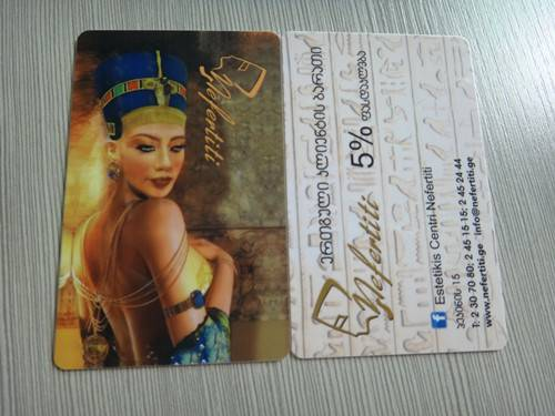 OEM ODM 30mil plastic pvc card full color printing