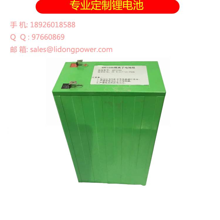 48V 10Ah Lithium Ion Battery For Electric Vehicles