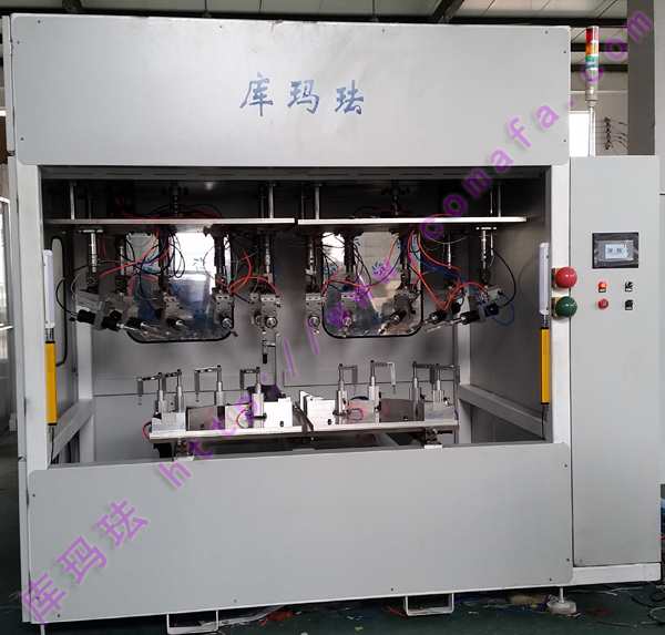 Automobile gear box, hot melt welding machine