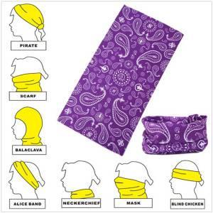 Custom neck headwear bandana muitiscart tube beanie