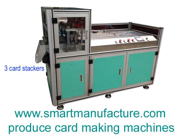 SMCPM-A3E Automatic Plastic Card Punching Machine