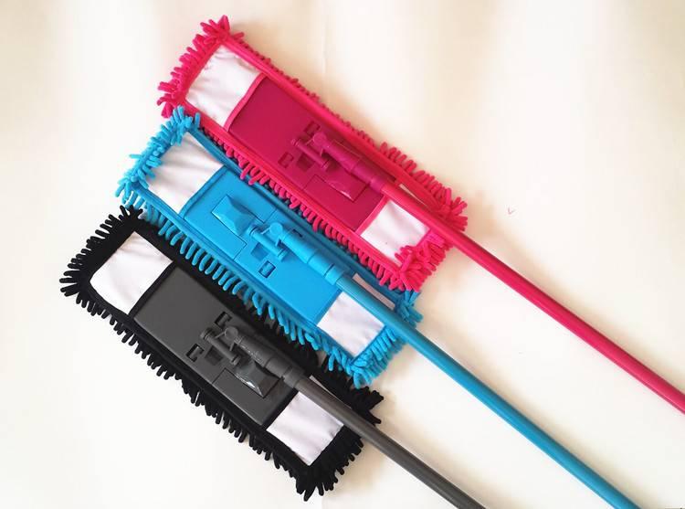 YUJIE 2001 microfiber chenille flat cleaning mop