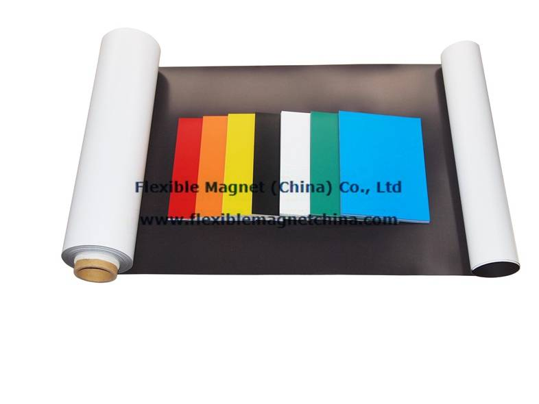 Flexible Magnetic Roll with PVC