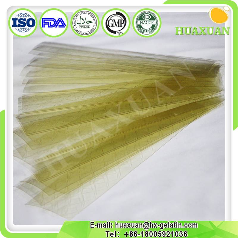 New Excellent Qulity Leaf Gelatin for Bakery use Gelatin sheet/ gelatin