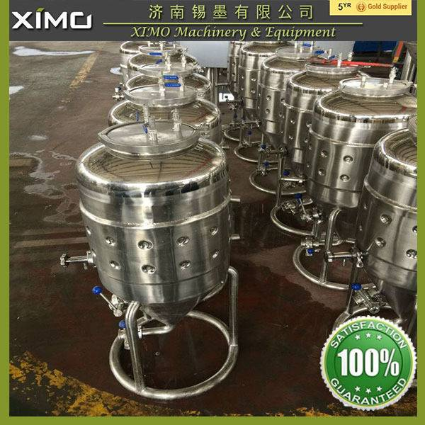 Mini Beer Brewing Plant, 50 L Microbrewery For Pub