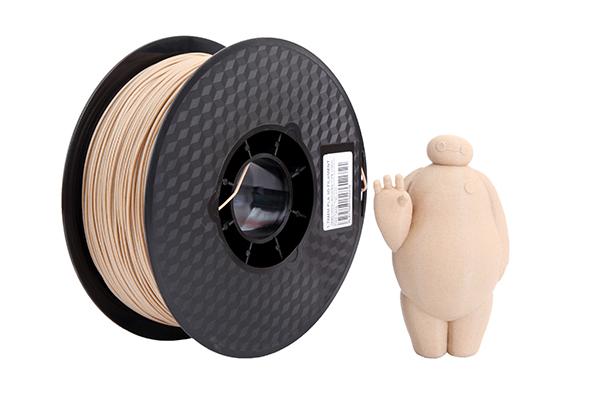 3D Printer 1.75mm 1kg Roll Spool PLA wood Filament