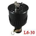 LK8332B BakeliteL6-30P Locking Rubber Plug