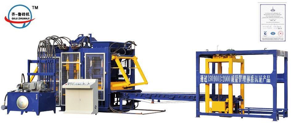 QT10-15 fully-automatic block making machine