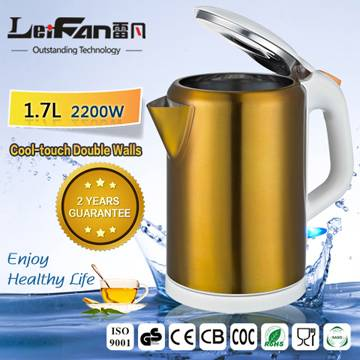 healthy food grade 1.7 liter factory electric kettle