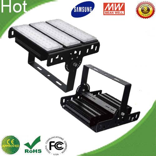 Factory price High power External Meanwell Driver Samsung SMD 3030 150W Led Tunnel Flood Light