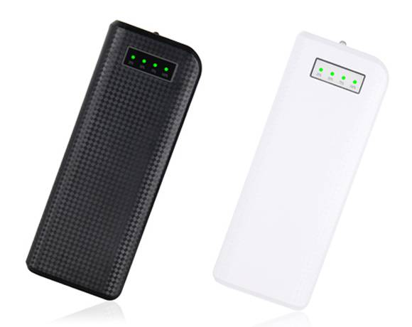 SJ-Y156L 13200mAh  textured indicator strong capacity high quality dual USB powerbank  with LED