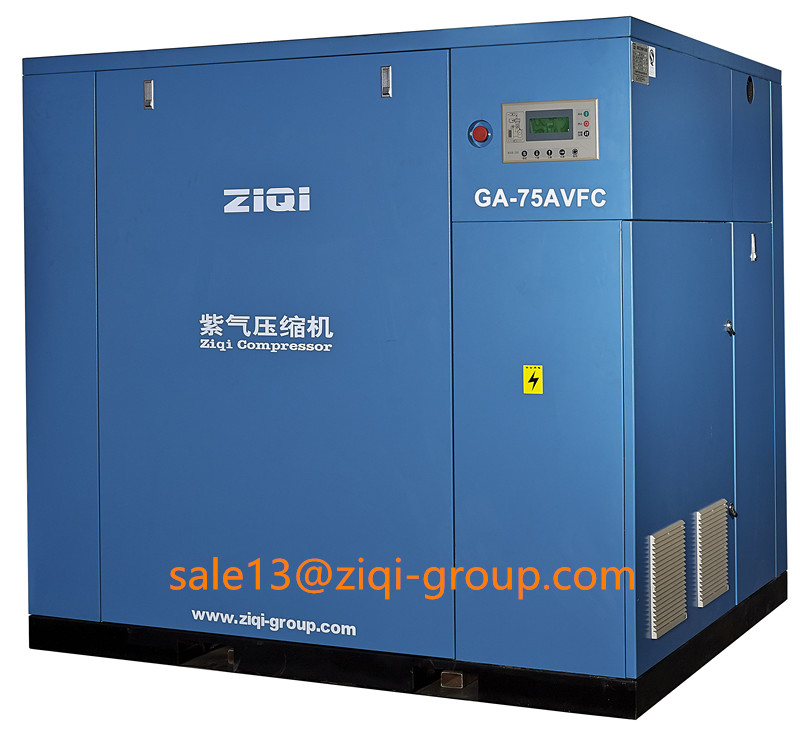 AC Power GA Serious 75KW-220KW VFC Frequency Inverter Screw Air Compressor