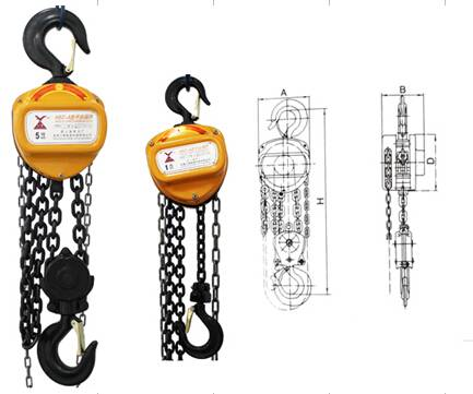 HSZ-CK Series chain hoist