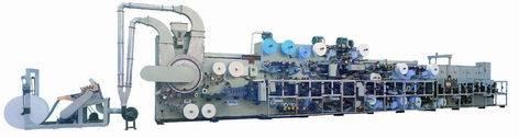 Full-Automatic High-speed Baby Diaper Machine (PX-YKJ-150B)