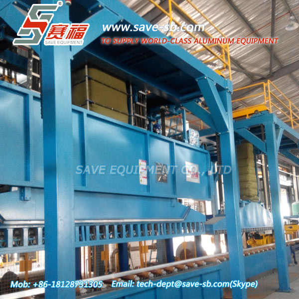 SAVE Energy Saving Rapid Cooling Systems for Aluminum Extrusion Line