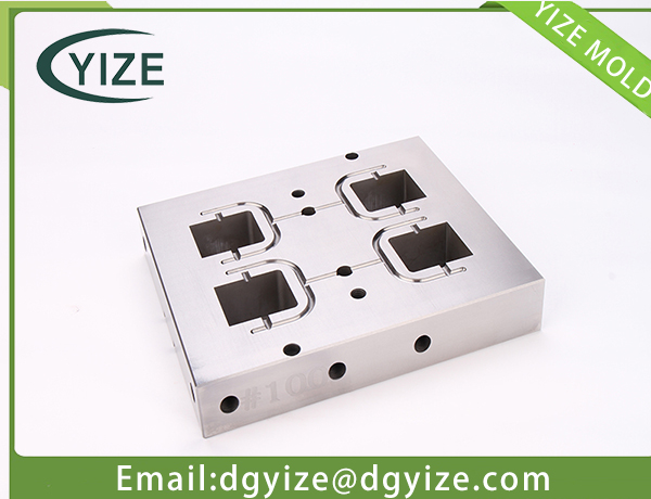 Dongguan precision mold component-precision inserts with EDM processing