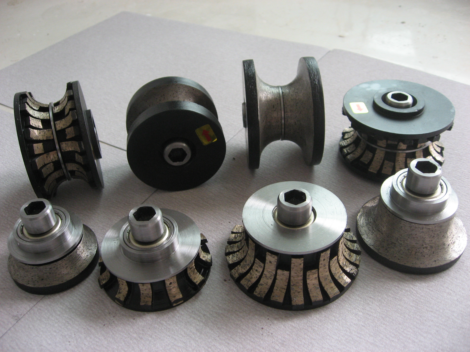 sintered segmented diamond router bits