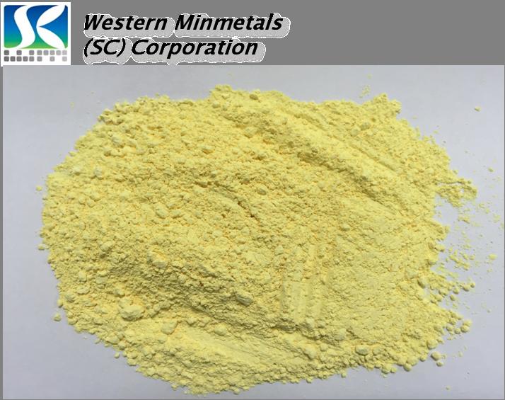 High Purity Bismuth Oxide at Western Minmetals Bi2O3 3N 4N 5N 6N