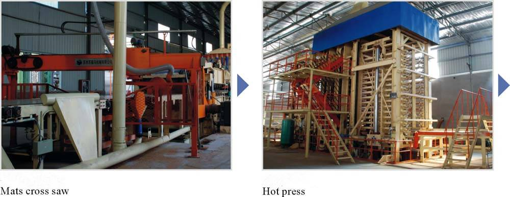 MDF furniture production equipment