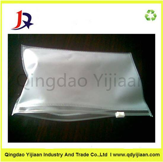 Zipper PVC plastic bag